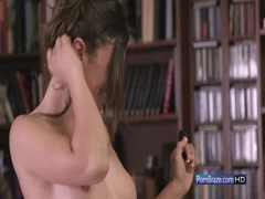 Sexy horny lesbians having fun together with toys - Apolpnia Julia