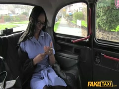 Little black girl fucks off bad taxi driver