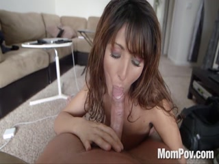 Milf bitch slut amateur sucking deep hard cock
