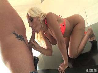 Balls slapping and fucking against blonde's ass - Babe porn