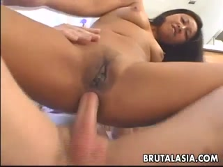 Asian Girl Is Fucked In The Ass By Big Cock - Asian HD Porn
