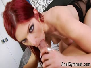 Randy Red-head Getting Rammed In The Poop Chute