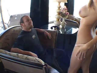Masked Blonde Sucks And Rides A Fat Meat Pipe