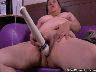 Busty Chubby Milfs Strip And Masturbate Pussies