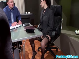 Business Hd Porn - Bukkake at the business meeting - HD porn video | Pornbraze.com